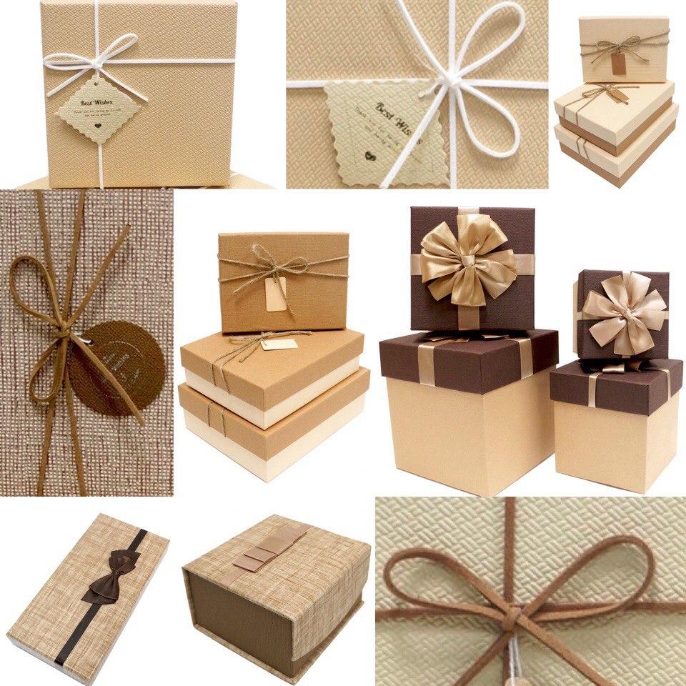 Упаковки для подарка с наполнителем 284