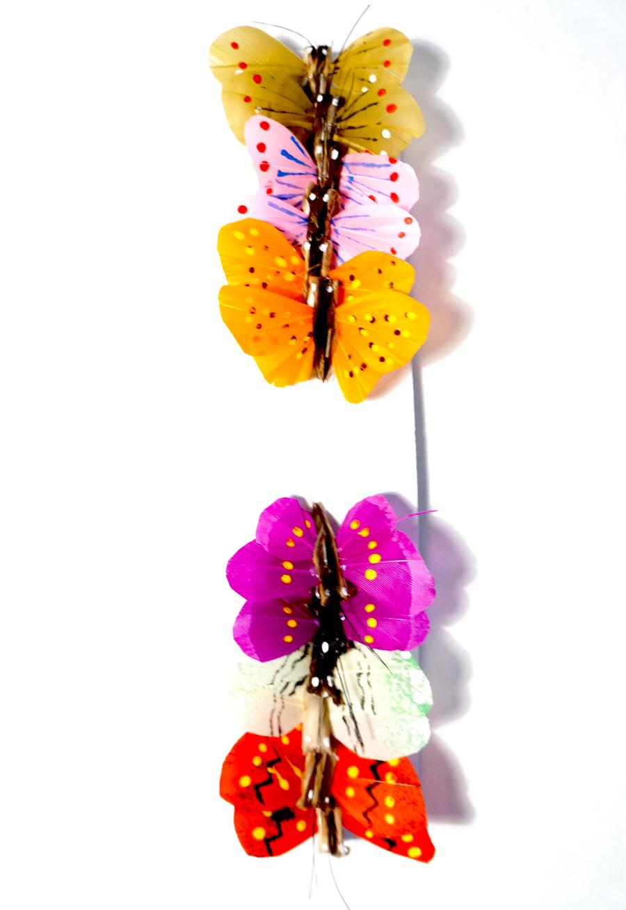 Бабочки для украшения букетов своими руками 85
