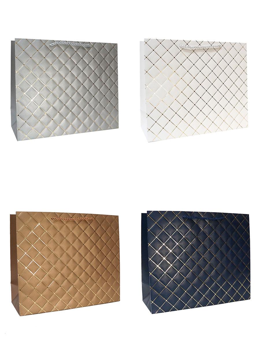 Бумажные пакеты новогодние для подарков 58
