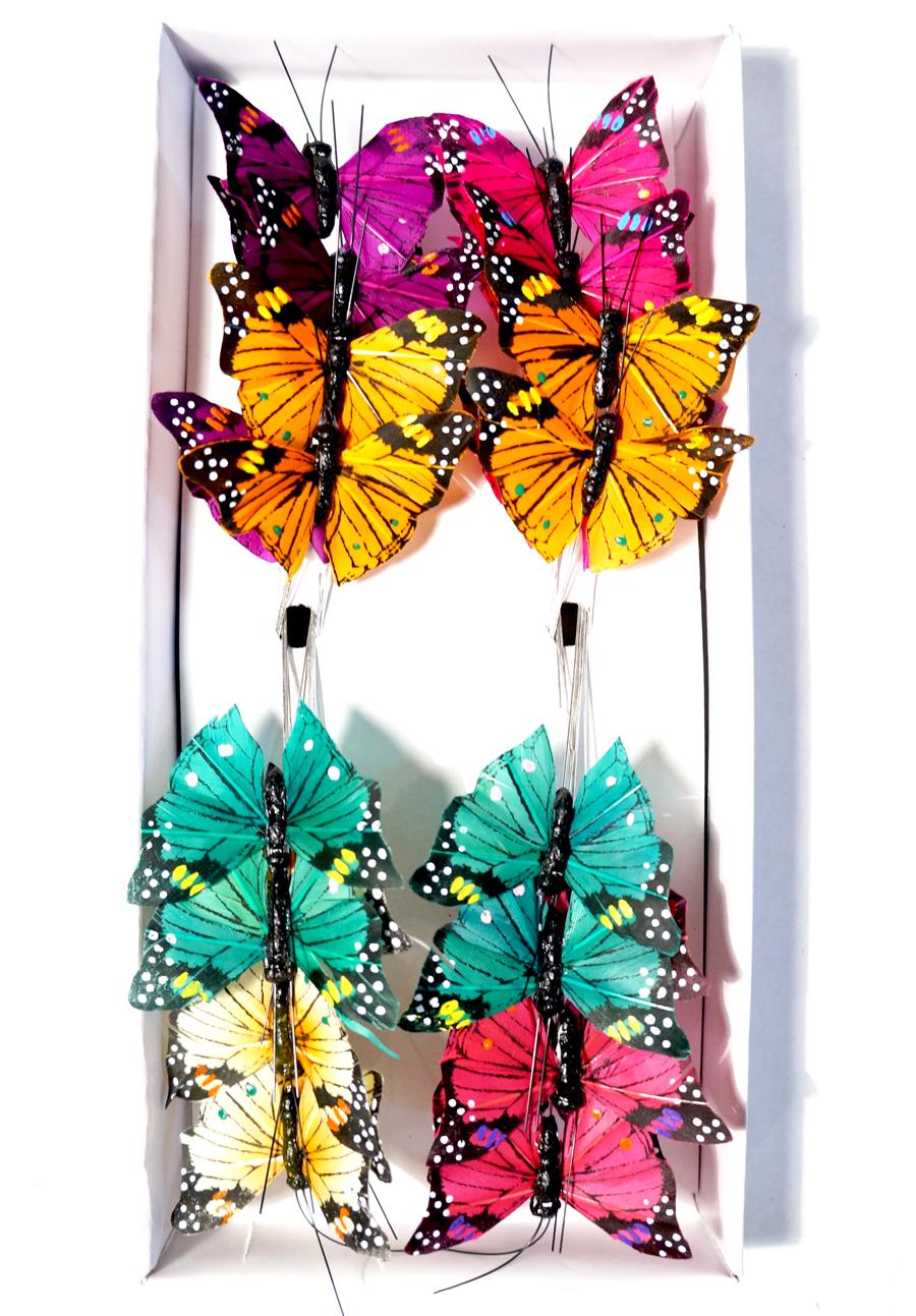 Бабочки для украшения букетов своими руками 84