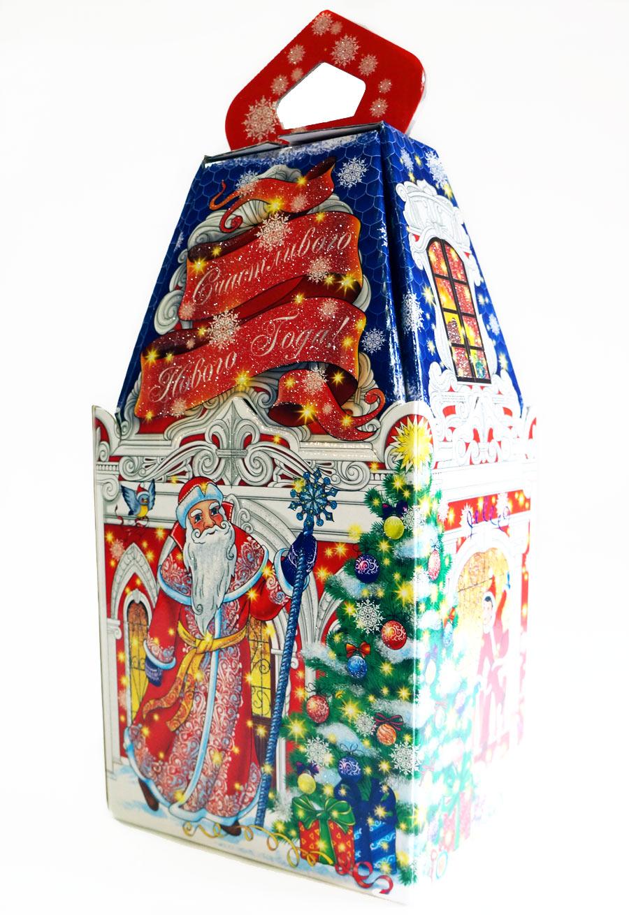 Новогодняя упаковка оптом, упаковка для новогодних 77